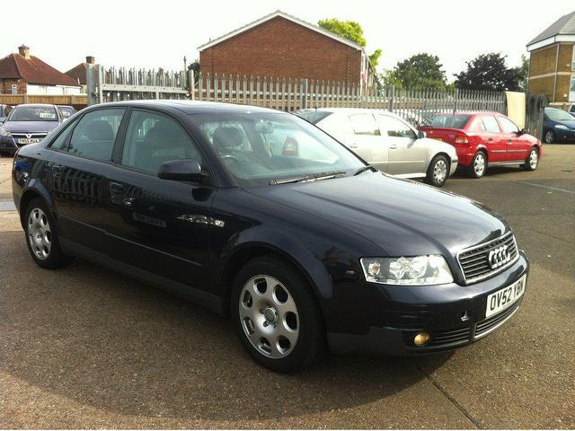 Used Audi A4 2003 Blue Saloon Petrol Automatic for Sale