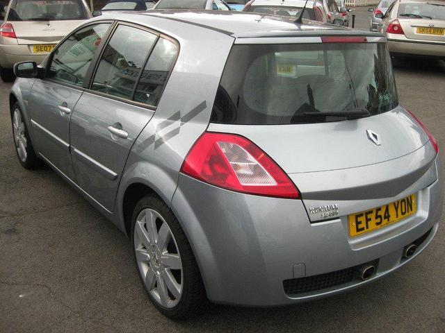 used renault megane 2005 petrol 2 0 t 16v renaultsport hatchback grey manual for sale in. Black Bedroom Furniture Sets. Home Design Ideas