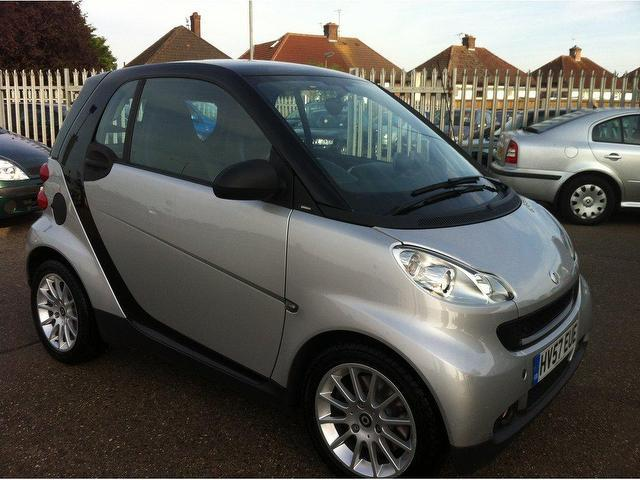 used smart fortwo 2007 petrol passion 2dr auto 1 0 coupe silver automatic for sale in ashford uk. Black Bedroom Furniture Sets. Home Design Ideas