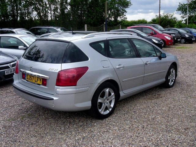 used peugeot 407 2007 diesel 2 0 hdi 136 sport estate silver manual for sale in nuneaton uk. Black Bedroom Furniture Sets. Home Design Ideas