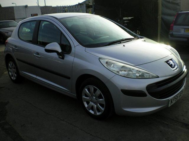 Used Peugeot 207 2006 Silver Hatchback Petrol Manual for Sale
