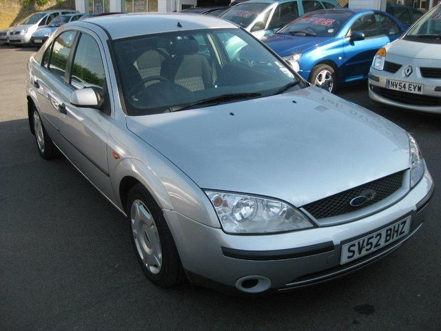 Ford Mondeo 2002 Blue Images