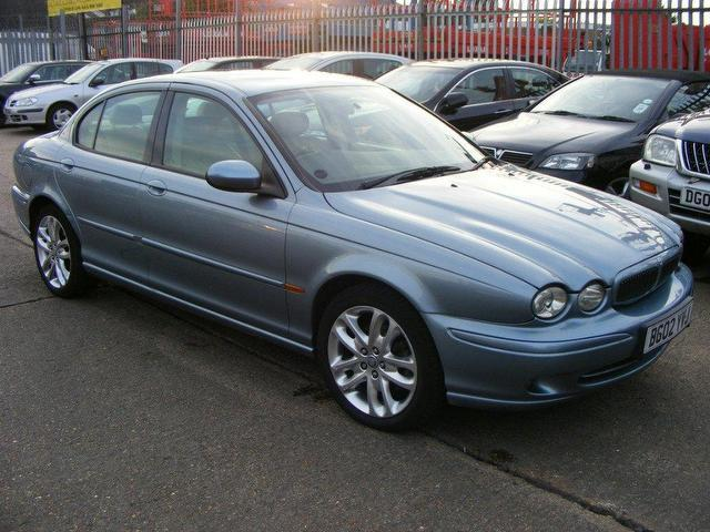 used jaguar x type 2002 petrol 2 0 v6 sport 4dr saloon. Black Bedroom Furniture Sets. Home Design Ideas