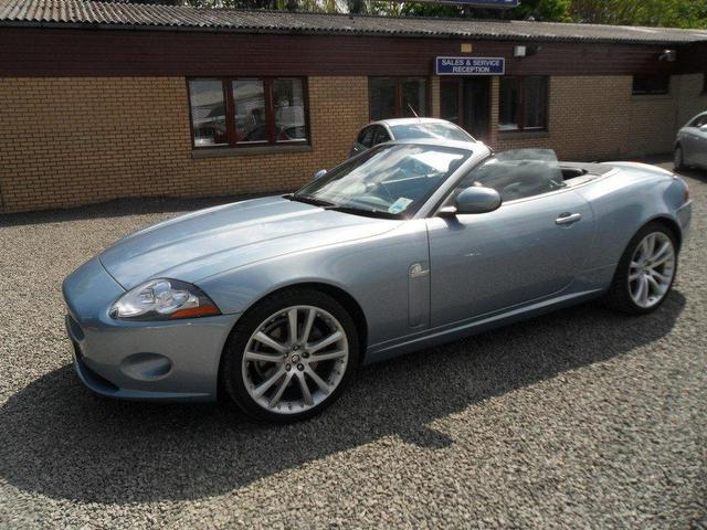 used jaguar xk 2009 petrol 4 2 v8 2dr auto convertible blue automatic for sale in inveralmond. Black Bedroom Furniture Sets. Home Design Ideas
