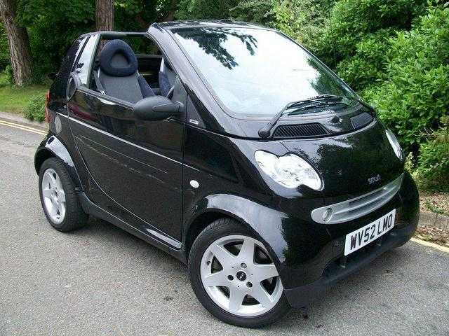 Used Smart City 2002 Black Coupe Petrol Automatic for Sale