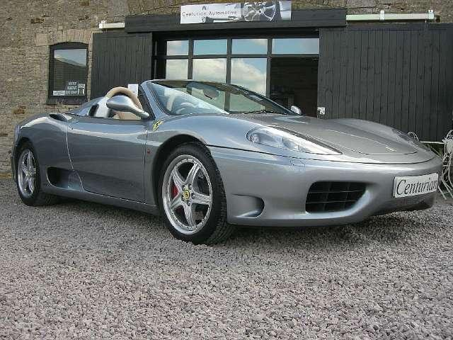 used ferrari 360 2004 petrol spider 2dr sat nav convertible grey manual for s. Cars Review. Best American Auto & Cars Review