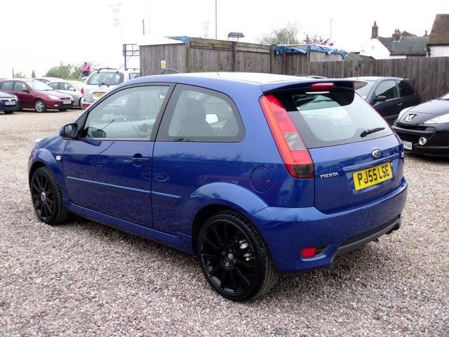 used ford fiesta 2005 petrol 2 0 st 3dr hatchback blue manual for sale in nuneaton uk autopazar. Black Bedroom Furniture Sets. Home Design Ideas