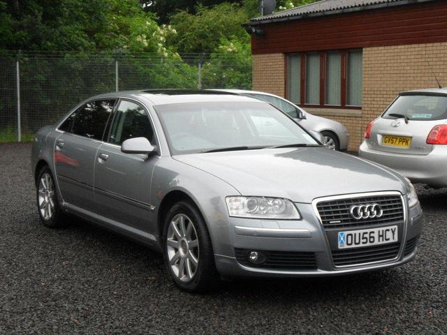Used Audi A8 2007 Grey Saloon Petrol Automatic for Sale