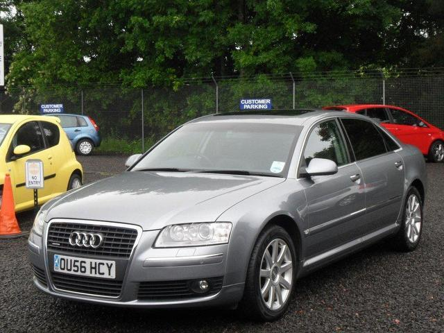 Used Audi A8 4.2 Fsi Quattro Se Saloon Grey 2007 Petrol for Sale in UK