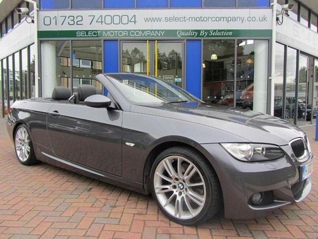 used bmw 3 series 2007 petrol 320i m sport convertible grey manual for sale in sevenoaks uk. Black Bedroom Furniture Sets. Home Design Ideas