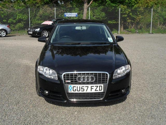 used audi a4 2007 diesel 2 0 tdi tdv s saloon black automatic for sale in inveralmond place uk. Black Bedroom Furniture Sets. Home Design Ideas
