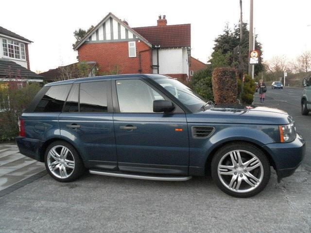 Used Land Rover Range Sport 2.7  Blue 2005 for Sale in UK