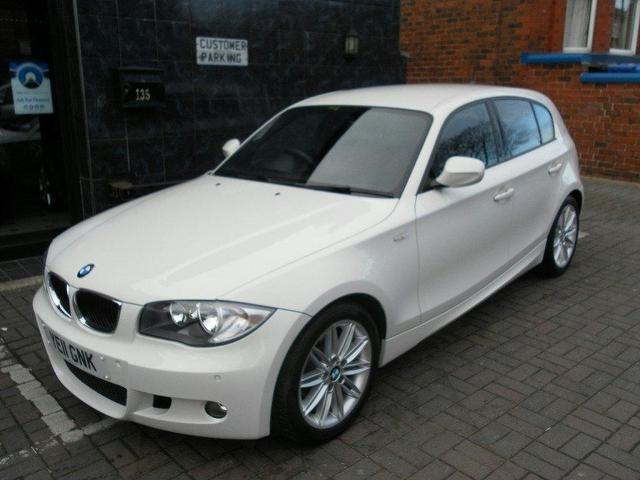 used bmw 1 2011 series 118d m sport white for sale in stockport uk autopazar. Black Bedroom Furniture Sets. Home Design Ideas