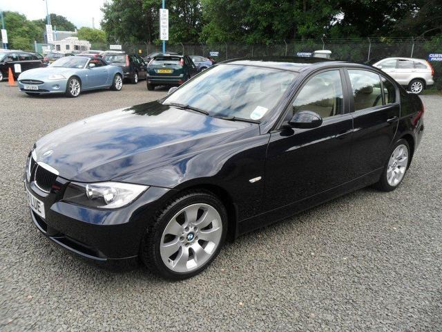 used bmw 3 series 2008 petrol 318i edition se saloon black manual for sale in inveralmond place. Black Bedroom Furniture Sets. Home Design Ideas