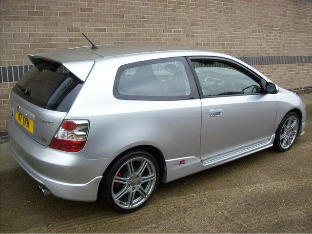 Used Honda Civic 2005 Petrol 2.0 I-vtec Type-r 3dr Hatchback Silver Manual For Sale In Norwich ...