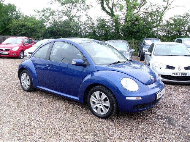 used volkswagen beetle 2007 petrol 1 6 luna 3dr hatchback blue manual for sale in nuneaton uk. Black Bedroom Furniture Sets. Home Design Ideas