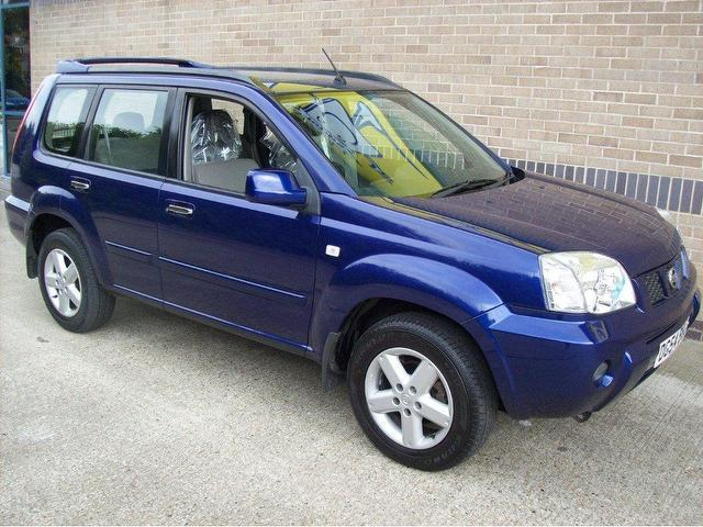 used nissan x trail 2004 diesel 2 2 dci 136 sport 4x4 blue. Black Bedroom Furniture Sets. Home Design Ideas