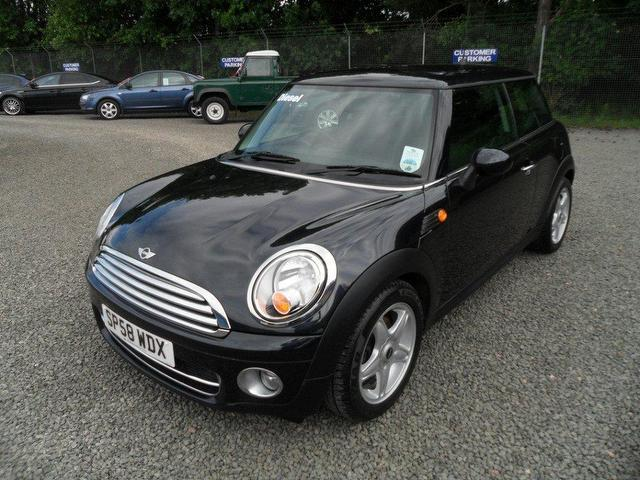 used mini 1 6 2008 diesel cooper d 3dr chili hatchback black manual rh autopazar co uk mini one manual pdf 2008 mini one manual pdf 2008