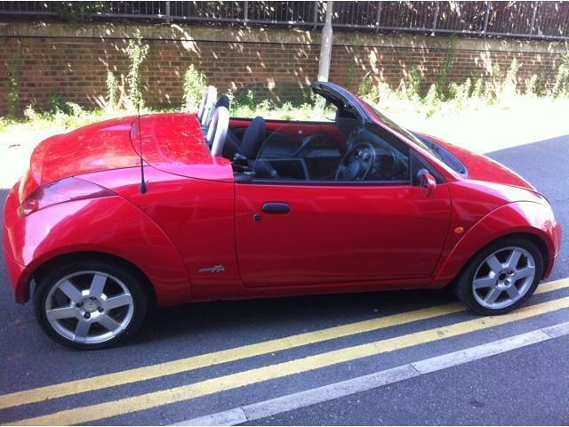 Used Ford Streetka 16i 2 Door Convertible Red 2004 Petrol For Sale In UK
