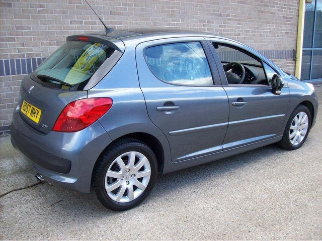 used peugeot 207 2007 diesel 1 6 hdi se premium hatchback grey manual for sale in norwich uk. Black Bedroom Furniture Sets. Home Design Ideas