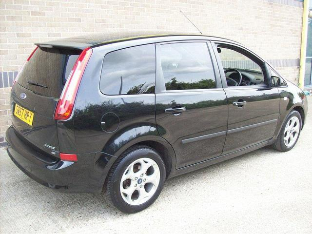used ford c max 2007 petrol 1 8 zetec 5dr estate black manual for sale in norwich uk autopazar. Black Bedroom Furniture Sets. Home Design Ideas
