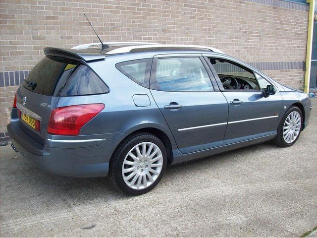 Used Peugeot 407 2.2 Hdi 170 Sport Estate Grey 2007 Diesel for Sale in ...