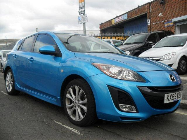 used mazda mazda3 2009 diesel 185 sport 5dr hatchback blue manual for sale in portsmouth. Black Bedroom Furniture Sets. Home Design Ideas