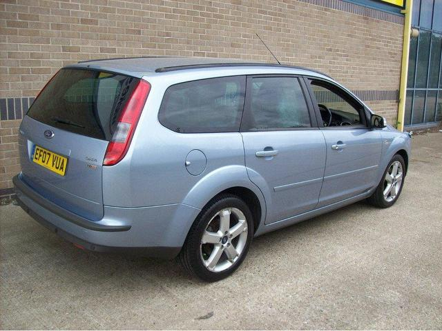 used ford focus 2007 diesel 1 8 tdci ghia lux estate blue manual for sale in norwich uk autopazar. Black Bedroom Furniture Sets. Home Design Ideas