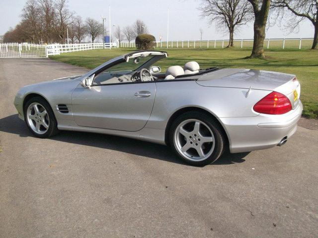 Used mercedes benz 2003 petrol class sl 350 2dr for Mercedes benz sl coupe for sale