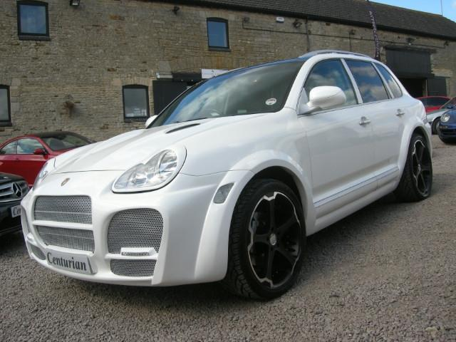Used Porsche Cayenne 2004 White 4x4 Petrol Automatic for Sale