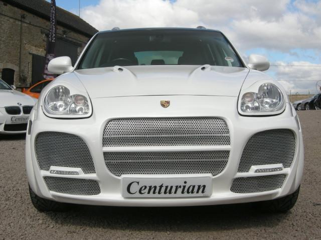 Used Porsche Cayenne 5 Door Tiptronic S 4.5ltr 4x4 White 2004 Petrol for Sale in UK
