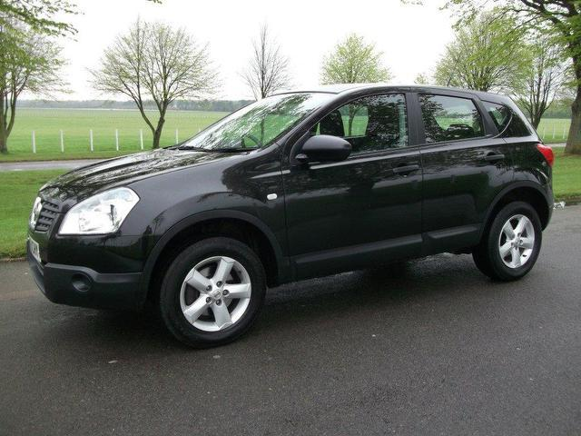 used nissan qashqai 2009 diesel 2 0 dci visia 5dr hatchback black manual for sale in newmarket. Black Bedroom Furniture Sets. Home Design Ideas