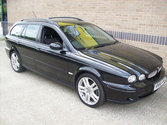 used jaguar x type 2006 diesel sport 5dr estate black. Black Bedroom Furniture Sets. Home Design Ideas