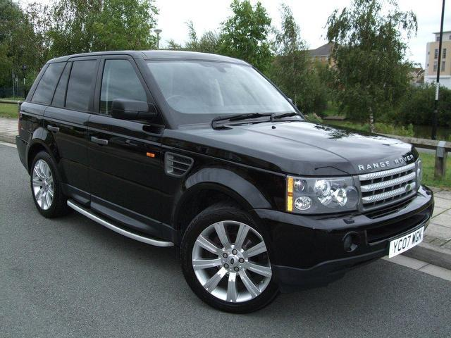 used landrover rover 2007 diesel range sport 2 7 4x4 black automatic for sale in portsmouth uk. Black Bedroom Furniture Sets. Home Design Ideas