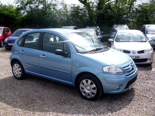used citroen c3 2006 petrol 16v stop and hatchback blue automatic for sale in nuneaton uk. Black Bedroom Furniture Sets. Home Design Ideas