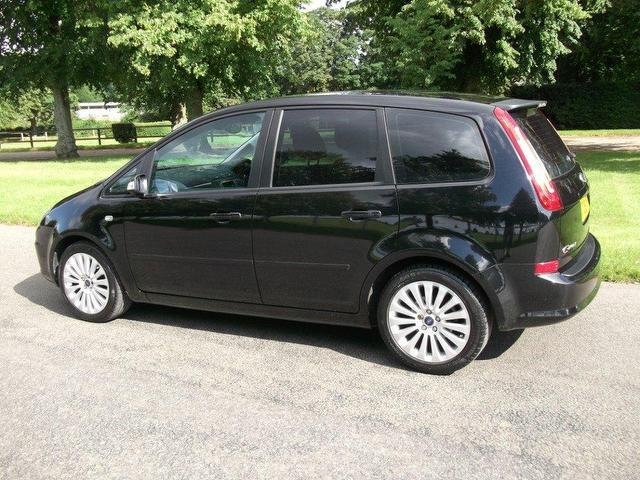 used ford c max 2009 diesel titanium 110 5dr estate black manual for sale in newmarket. Black Bedroom Furniture Sets. Home Design Ideas