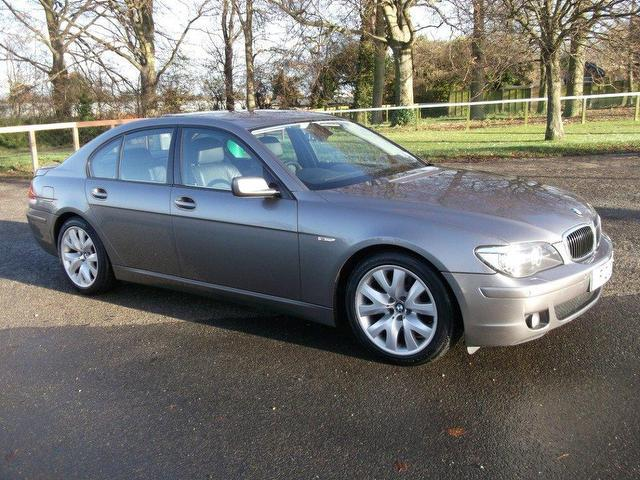 used bmw 7 series 2006 diesel 730d sport 4dr saloon grey automatic for sale in newmarket uk. Black Bedroom Furniture Sets. Home Design Ideas
