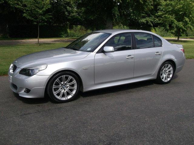 used bmw 5 series 2007 diesel 530d m sport saloon silver automatic for sale in newmarket uk. Black Bedroom Furniture Sets. Home Design Ideas