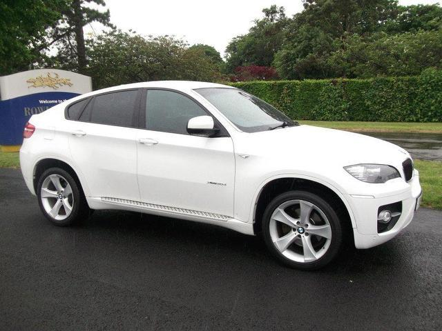 Used BMW X6 2009 White 4x4 Diesel Automatic for Sale