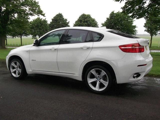Used Bmw X6 2009 Diesel Xdrive30d 5dr Step Auto 4x4 White