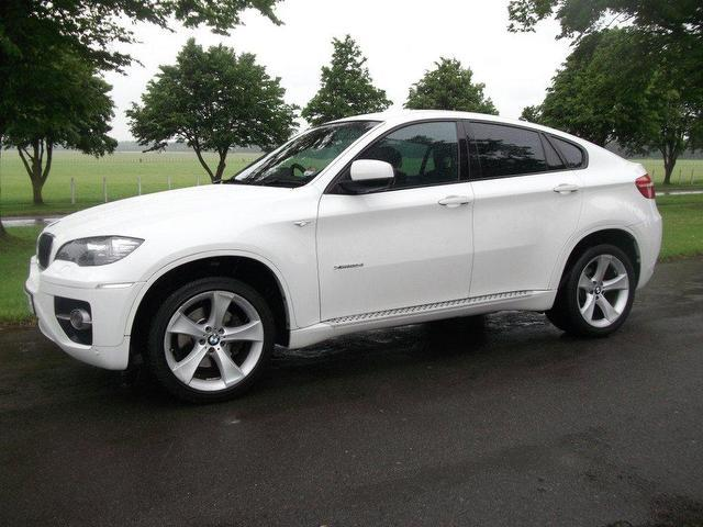 Used Bmw X6 Xdrive30d 5 Door Step Auto 4x4 White 2009 Diesel for Sale in UK