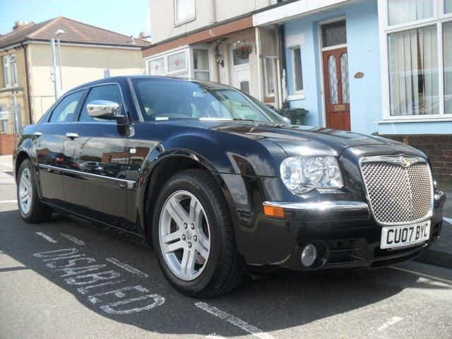 used chrysler 300c 2007 black saloon diesel automatic for sale. Cars Review. Best American Auto & Cars Review