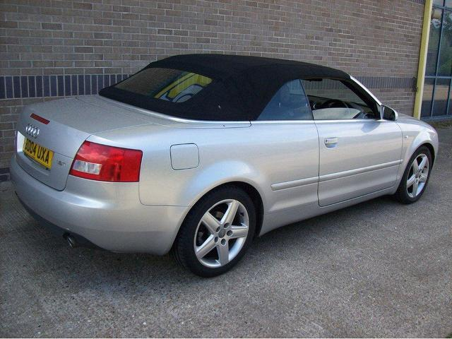 used audi a4 2004 petrol sport 2dr convertible silver manual for sale in norwich uk autopazar. Black Bedroom Furniture Sets. Home Design Ideas