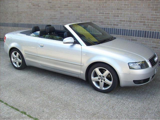 Used Audi A Silver Convertible Petrol Manual For Sale In Norfolk Uk on 2004 Audi A4 1 8t Engine