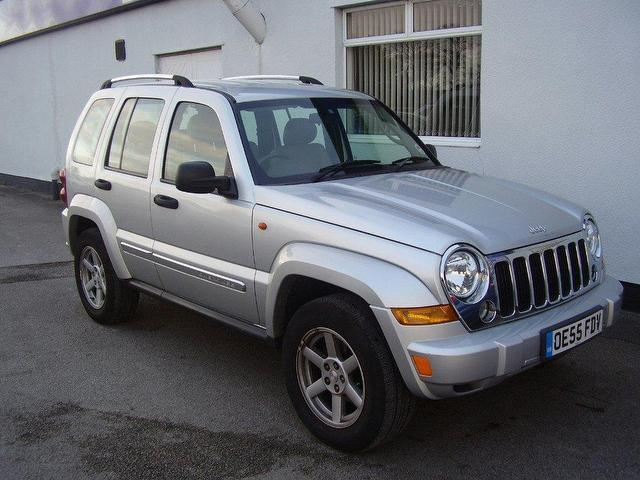 used jeep cherokee 2006 diesel 2 8 crd limited 5dr 4x4. Black Bedroom Furniture Sets. Home Design Ideas