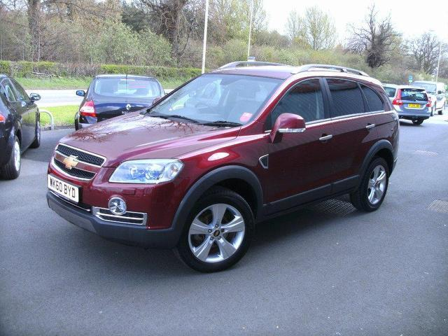 Used Chevrolet Captiva 2010 20 Vcdi Ltz 5dr Red For Sale In