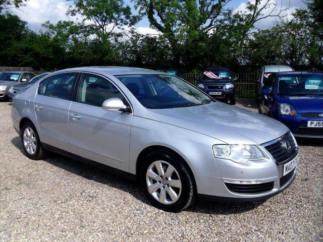 used volkswagen passat 2007 diesel 2 0 se tdi 4dr saloon silver manual for sale in nuneaton uk. Black Bedroom Furniture Sets. Home Design Ideas