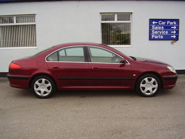 used peugeot 607 2004 diesel 2 2 hdi se 4dr saloon red automatic for sale in wirral uk autopazar. Black Bedroom Furniture Sets. Home Design Ideas