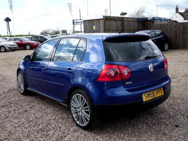 Golf 2005 petrol 2 0t gti sunroof amp hatchback blue manual for sale in