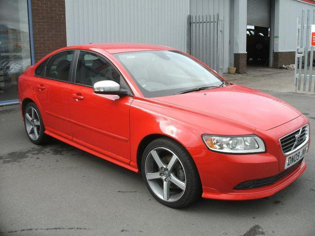 used volvo s40 2009 t5 se sport 4dr red for sale in oswestry uk